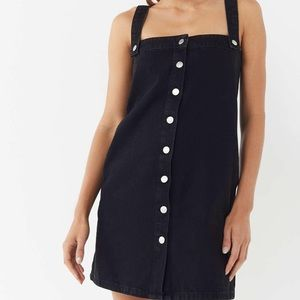 Urban Outfitters Aria Straight Overall Dress